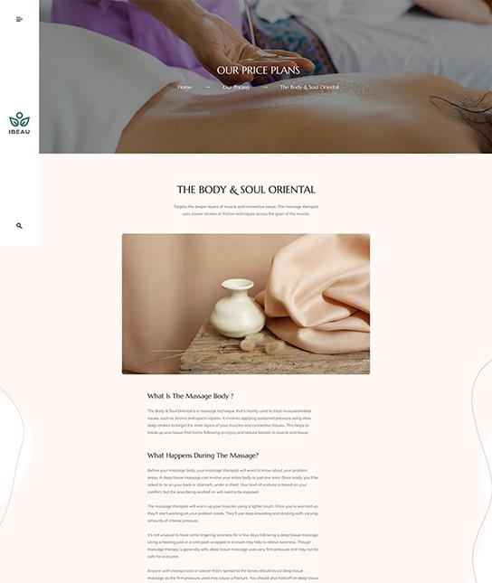Joomla beauty salon template - JA Spa