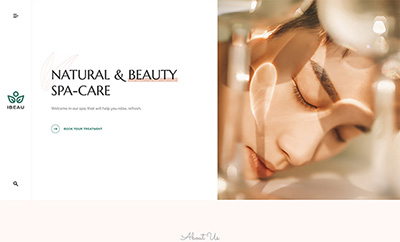Premium Joomla Beauty Salon template - JA Spa
