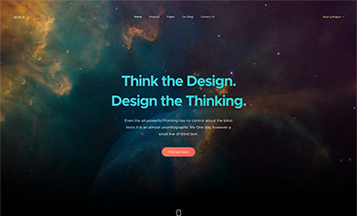 Creative Portfolio Joomla Template - JA Space