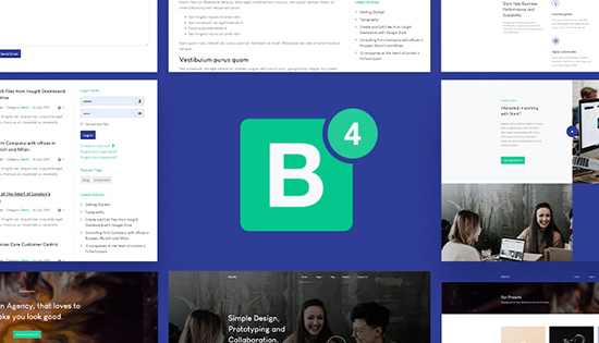 Bootstrap integration joomla template