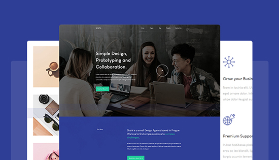 multiple theme for free business joomla template