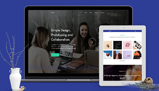 free responsive business joomla template