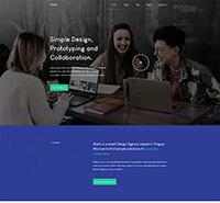 Free Business Joomla Template - JA Stark