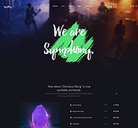 Music & Band, Music Events Joomla Template - JA Symphony