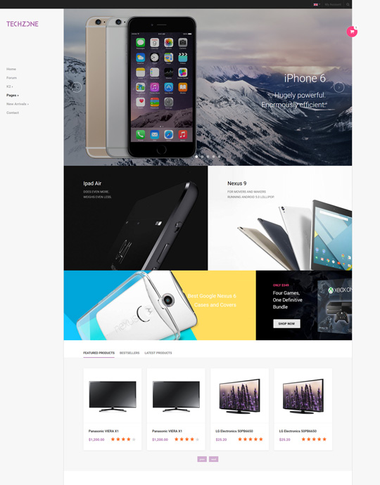 Responsive joomla template for app and tech store - JA Techzone