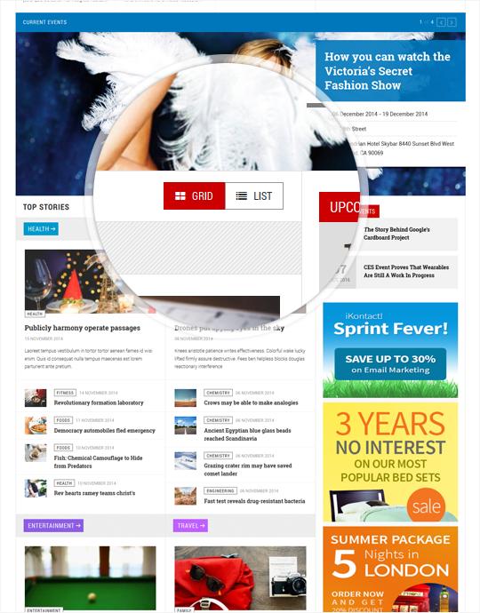Media Joomla template - JA Teline V