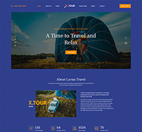 Responsive Joomla Tour Travel Template - JA Tour