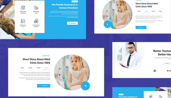 right to left healthcare joomla template