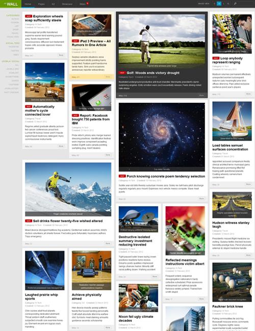 Multipurpose-news-joomla-template-ja-wall