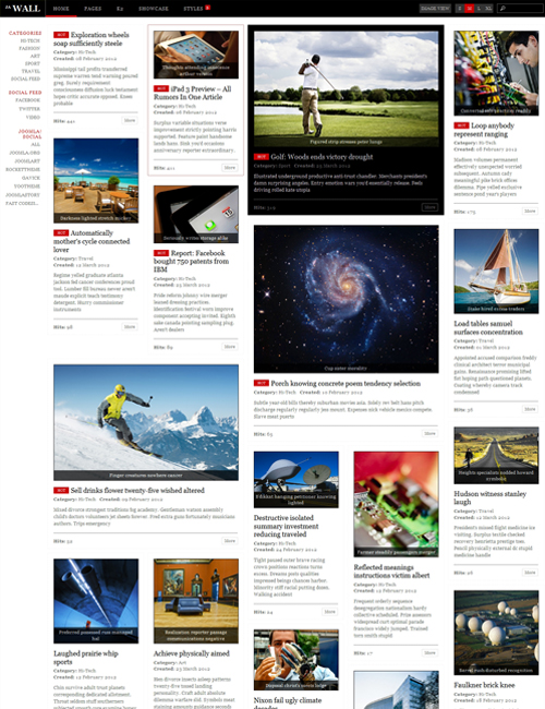 Multipurpose-news-joomla-template-ja-wall