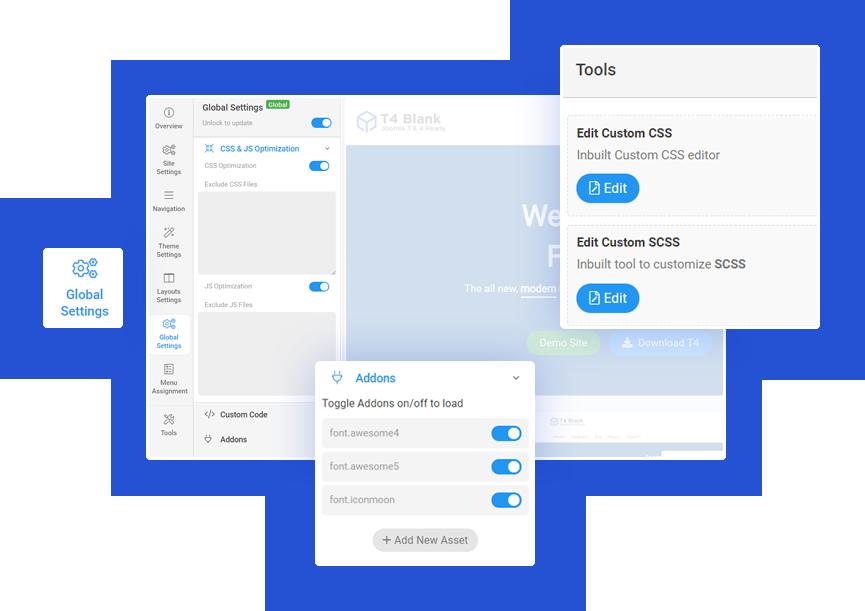 t4-joomla-template-framework tools