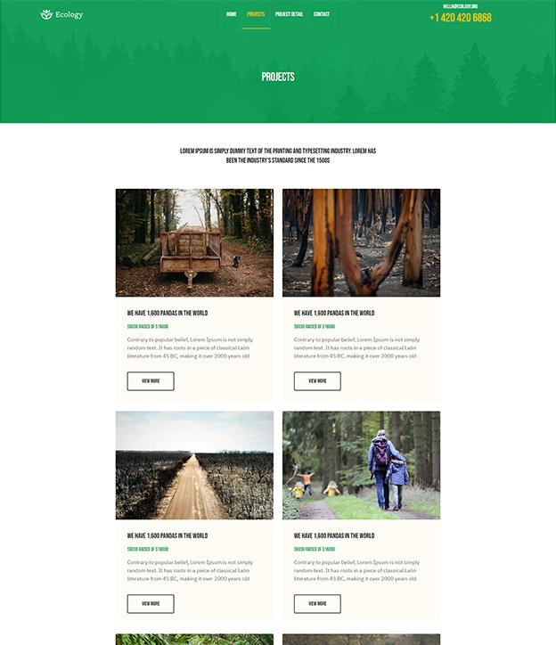 nonprofit Joomla template page builder