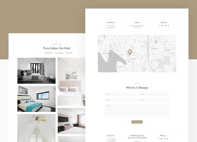 joomla hotel and resort template