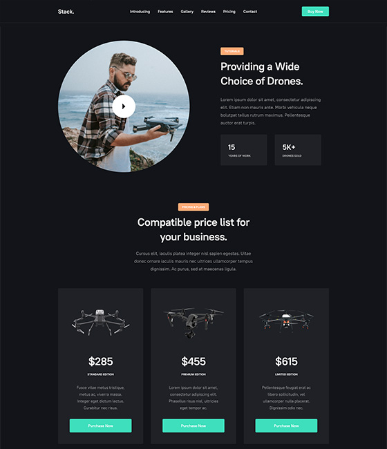 Joomla single product intro template layout