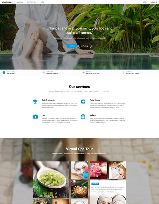 Business Joomla template - UBER
