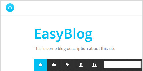 Supports EasyBlog