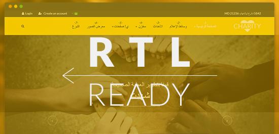 Support RTL language layouts