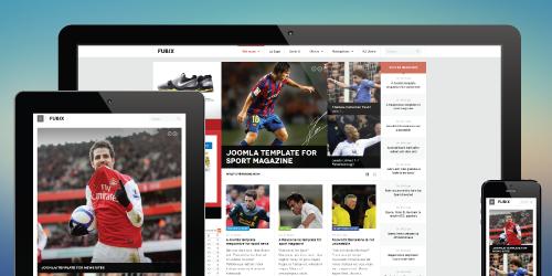 ja fubix sports news joomla template joomla templates and
