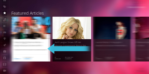 JA Smashboard- Joomla responsive template- entertainment ...