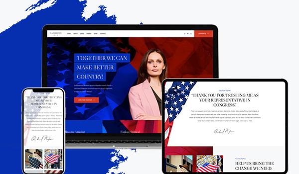 responsive joomla political template