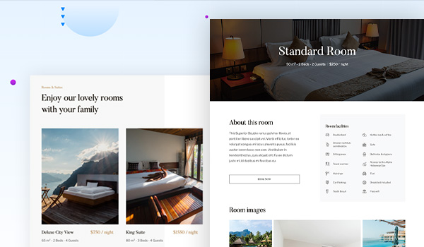 hotel booking joomla template