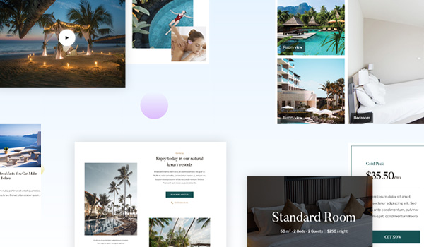 joomla template for hotel and resort