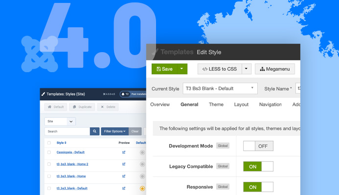 Preview Release: T3 Framework for Joomla 4 RC5