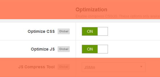 optimized Joomla template
