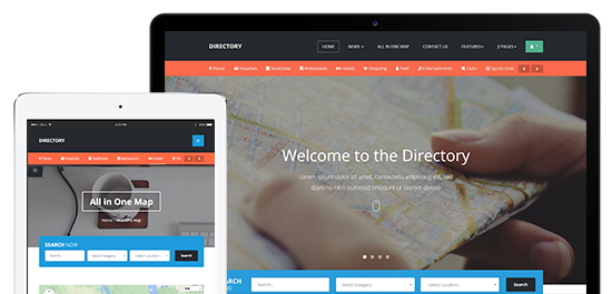 Fully Responsive Joomla Template For Directory