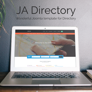 Review: JA Directory - Responsive Joomla template for Directory
