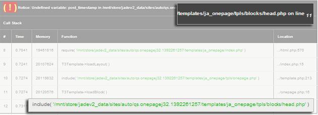 Joomla Error Reporting - Maximum settings