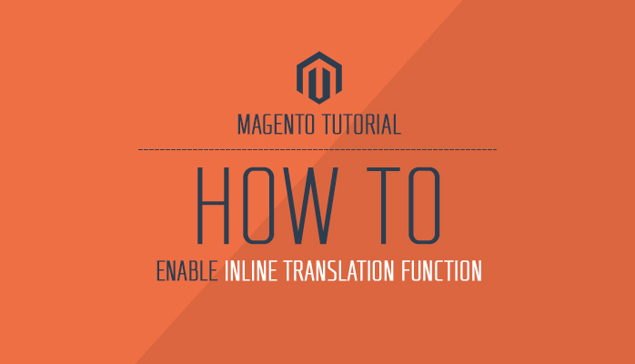 Inline Translation in Magento