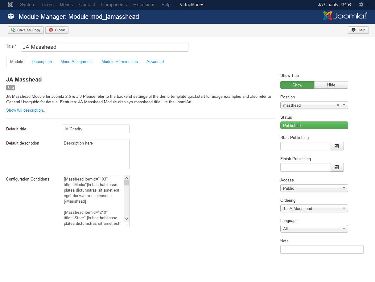 Gallery List - JoomlArt Advanced Custom Module