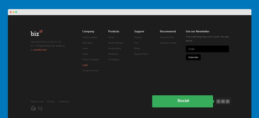 ja biz template documentation joomla templates and extensions provider