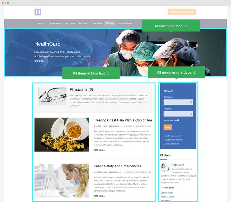 JA Healthcare | Joomla Templates and Extensions Provider