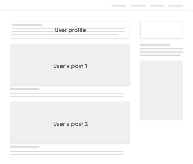 K2 blog page structure