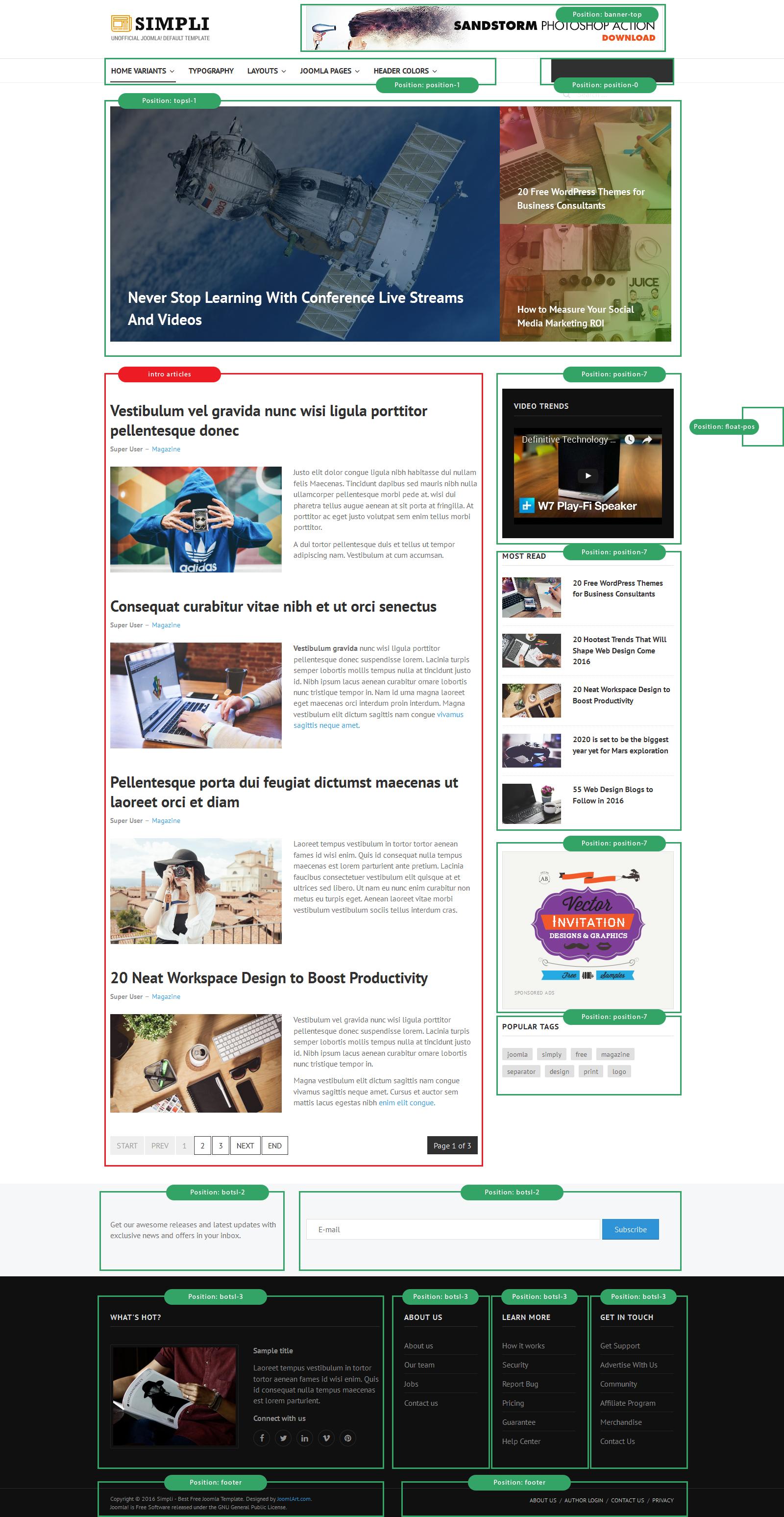JA Simpli | Joomla Templates and Extensions Provider