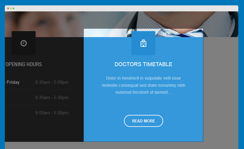 Doctors Timetable