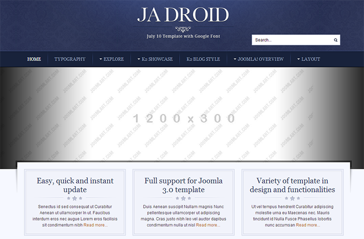 Joomla template quickstart installation documentation joomla 3 overview pronofoot35fo Gallery