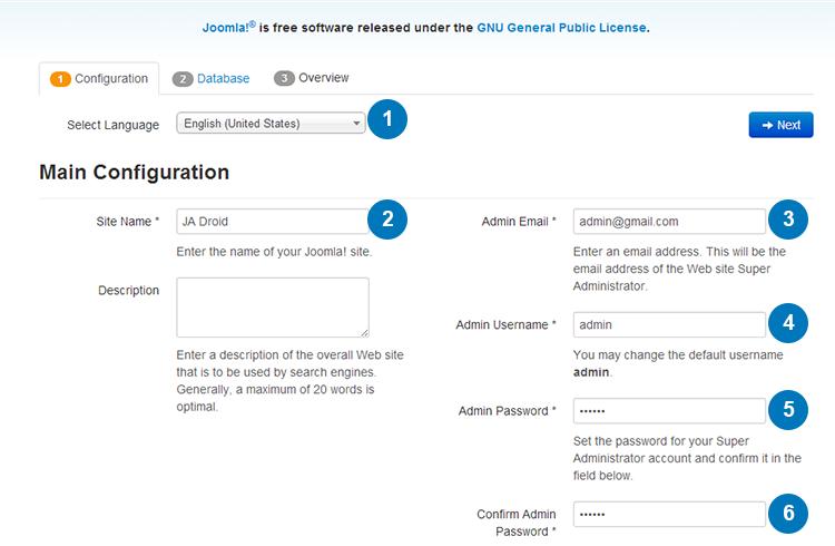 Joomla template quickstart installation documentation | Joomla ...