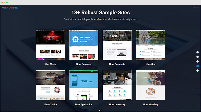 building uber sample sites joomla templates and extensions provider