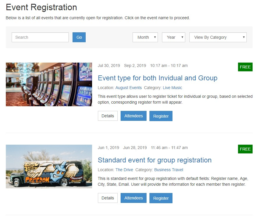 dth register themes