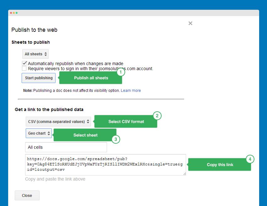 JA Google Chart - Free Joomla module documentation | Joomla