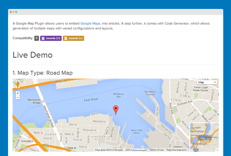 JA Google Map plugin documentation | Joomla Templates and Extensions ...