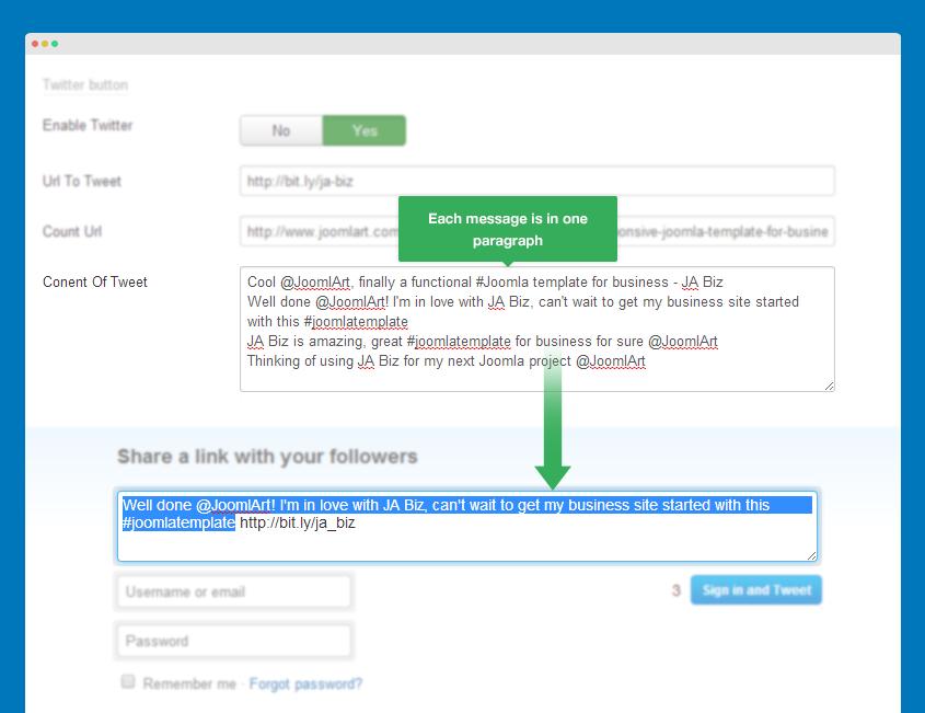 JA Social Locker - Joomla extension documentation | Joomla