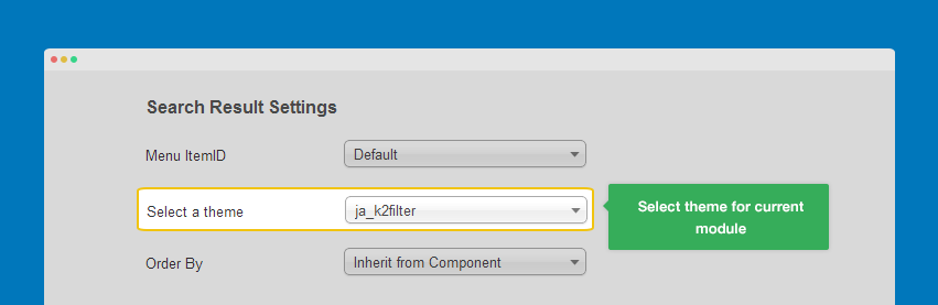 JA K2 Filter component documentation | Joomla Templates and ...