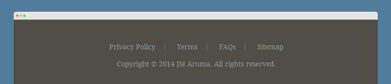 Aroma Documentation: Static Block Configuration