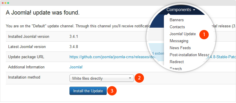 joomla tutorial step by step pdf