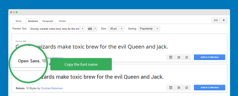 How to embed Web fonts and Google fonts for Joomla template