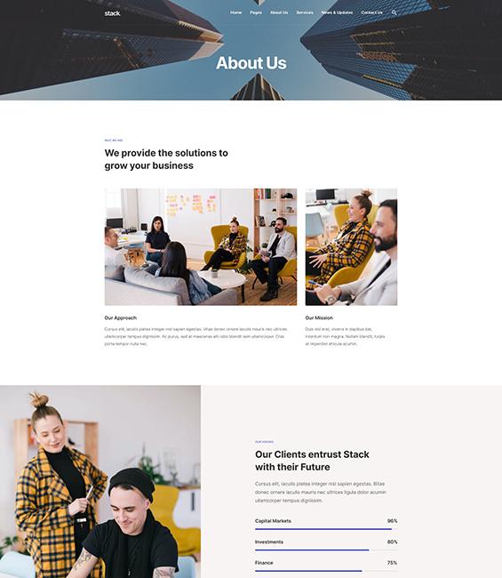 Business Joomla template - T4 Biz